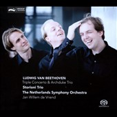 Beethoven: Triple Concerto; Archduke Trio, Op. 97 / Storioni Trio; Netherland SO, de Vriend