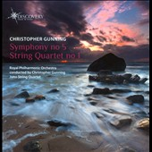 Christopher Gunning: Symphony No. 5 (2009); String Quartet No. 1 (1999 rev. 2006) / Juno Quartet