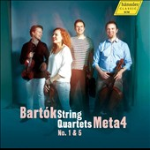 Bartok: String Quartets No. 1 & 5 / Meta4 Quartet