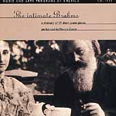 The Intimate Brahms / Naomi Zaslav