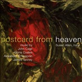 Postcard from Heaven: Harp Works of John Cage, Gloria Coates, A. Tcherepnin & James Tenney / Susan Allen, harp