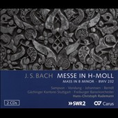 J.S. Bach: Mass in B Minor / Sampson, Vondung, Johannsen, Berndt. Freiburger Barockorchester; Gaechinger Kantorei Stuttgart [2 CDs]