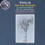 Vivaldi: The Four Seasons / Accardo, Orch Camerata Italiana