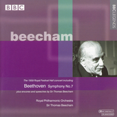 The 1959 Royal Festival Hall Concert / Beecham, RPO