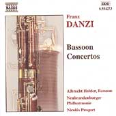 Danzi: Bassoon Concertos / Holder, Pasquet, et al