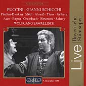 Puccini: Gianni Schicchi / Fischer-Dieskau, M&#246;dl, Sawallisch
