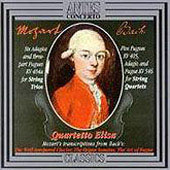 Mozart after Bach: Fugues and Adagios, etc / Quartetto Elisa