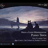 The Romantics Vol 1- Felix & Fanny Mendelssohn: Piano Trios
