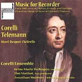 Corelli, Telemann, et al: Music for Recorder / Verhagen, etc