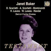 Scarlatti, Monteverdi, Lawes, Handel / Janet Baker, et al