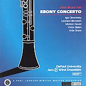 John Bruce Yeh - Ebony Concerto - Stravinsky, Bernstein