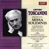 Beethoven: Missa Solemnis, Violin Concerto / Toscanini