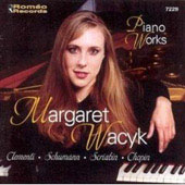 Chopin, Scriabin, Clementi, Schumann / Margaret Wacyk