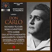 Verdi: Don Carlo / Votto, Tucker, Gobbi, Roberti, et al