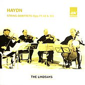 Haydn: String Quartets Op 77, 42 & 103 / The Lindsays