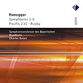 Honegger: Symphonies 1-5 / Dutoit, Bavarian Radio SO