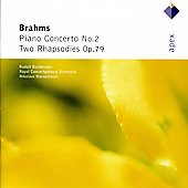 Brahms: Piano Concerto No.2, Two Rhapsodies Op.79