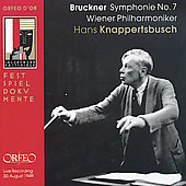 Festspieldokumente - Bruckner: Symphony no 7/Knappertsbusch