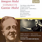 Holst: Works / Imogen Holst, William Bennett, Peter Graeme