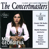 Concertmasters - Mozart, Chopin, et al / Georgieva, et al