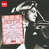 Icon - Jascha Heifetz - Mozart, Mendelssohn, Sibelius, Tchaikovsky, etc