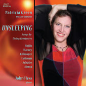 Songs by Living Composers - Harvey: Lulaby for the Unsleeping;  Schafer, Hajdu, Sierra, etc / Green, Hess