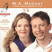 W.A. Mozart: Complete Sonatas for Keyboard & Violin, Vols. 7 & 8