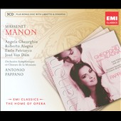 Massenet: Manon / Pappano [Includes CD-ROM]