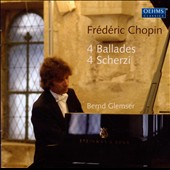 Chopin: 4 Ballades; 4 Scherzi / Bernd Glemser