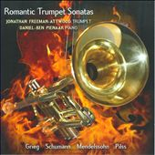 Romantic Trumpet Sonatas / Jonathan Freeman-Attwood