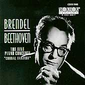 Beethoven: Five Piano Concerti, Choral Fantasy / Brendel