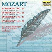 Classics - Mozart: Symphonies 24, 26, 27 & 30 / Mackerras