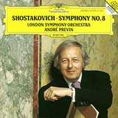 Shostakovich: Symphony no 8 / Previn, London SO