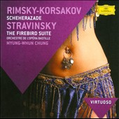 Rimsky-Korsakov: Scheherezade; Stravinsky: Firebird / Myung-Whun Chung - Bastille Opera Orch.