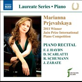 Piano Recital: Marianna Prjevalskaya, Winner Jaen Prize International Piano Competition - Haydn, Scarlatti, Schumann, Zarate