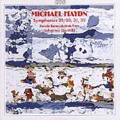 M. Haydn: Symphonies no 21, 30, 31, 32 / Goritzki, et al