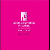 Royal Conservatoire of Scotland: The Sampler - works by Graham, Britten, José, Johnstone, Barluath, Liszt, Janacek, Boyle, Mahler / Ian Watt, guitar; Sinea Lee, piano