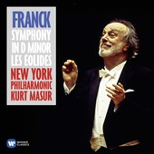 César Franck (1822-1890): Symphony in D minor; Les Eolides (The Breezes) / New York PO, Kurt Masur