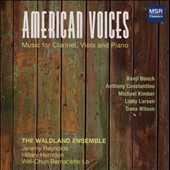 Clarinet, Viola and Piano Works by Kenji Bunch, Anthony Constantino, Dana Wilson, Michael Kimber, and Libby Larsen - 'American Voices'  / Jeremy Reynolds, Cla.; Hillary Herndon, Viola.; Wei-Chun Bernadette Lo, Pno.