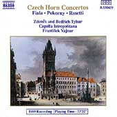 Czech Horn Concertos- Fiala, Pokorny, Rosetti / Z & B Tyslar