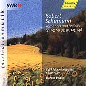 Schumann: Romances and Ballades / Huber, SWR Vokalensemble