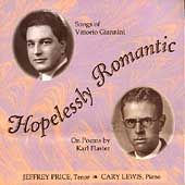 Hopelessly Romantic - Songs of Vittorio Giannini / Price