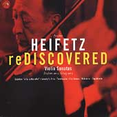 Heifetz Rediscovered - Grieg, Brahms, et al / Heifetz, et al