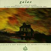 Galax - Whelden, Abel: Music for viola da gamba / R. Whelden