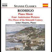 Spanish Classics - Rodrigo: Piano Music / Pizzaro