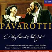 Pavarotti - My heart's delight / Benini, Focile