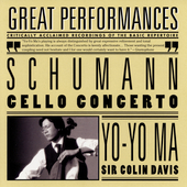 Schumann: Cello Concerto, etc / Ma, Ax, Davis