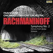 Rachmaninoff: Symphony no 2, etc / Järvi, Cincinnati SO