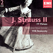 Gemini - J. Strauss II: 19 Waltzes / Willi Boskovsky