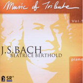 Music of Tribute Vol 5 - Bach / Beatrice Berthold